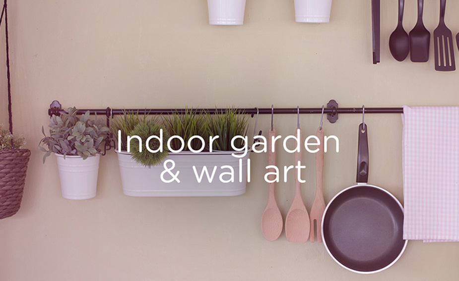 Indoor garden home hacks