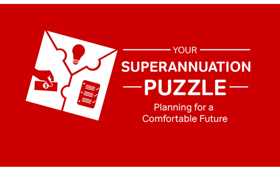 Superannuation Infographic Puzzle