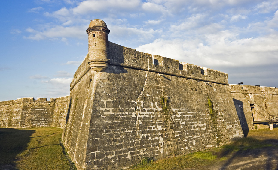 Castillo de San Marcos will give you chills